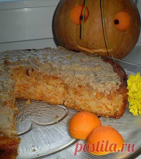 Тыквенный пирог без желтков | 4vkusa.ru