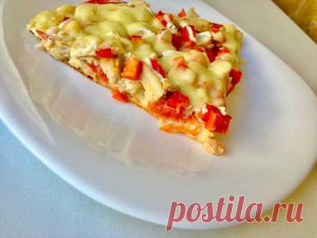 ПП-пицца с моцареллой на творожном тесте. Можно всем худеющим | ХУДЕЕМ ВКУСНО! | Яндекс Дзен