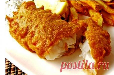 6 рецептов кляра для рыбы 1. Рыба в сырном кляре Рыба в этом кляре получается очень вкусная и достаточно сытная.
