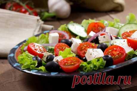 Как правильно готовить греческий салат для похудения