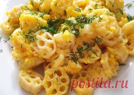 Макароны с сыром и яйцом - пошаговый рецепт с фото. Автор рецепта Ирина Фаткулина . - Cookpad