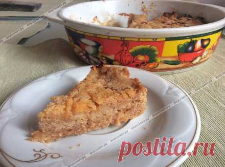 Simple apple pie the step-by-step recipe with a photo