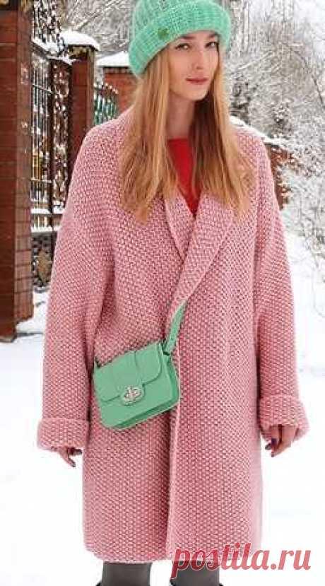 Пальто оверсайз от Татьяны Савельевой ✿ вязание спицами