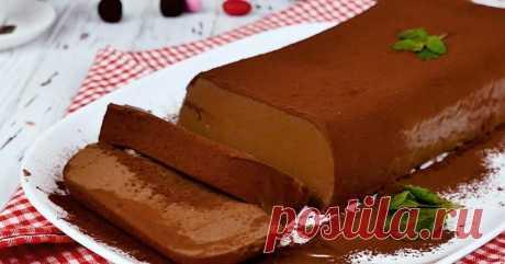 Рецепт шоколадного десерта из ряженки - Со Вкусом