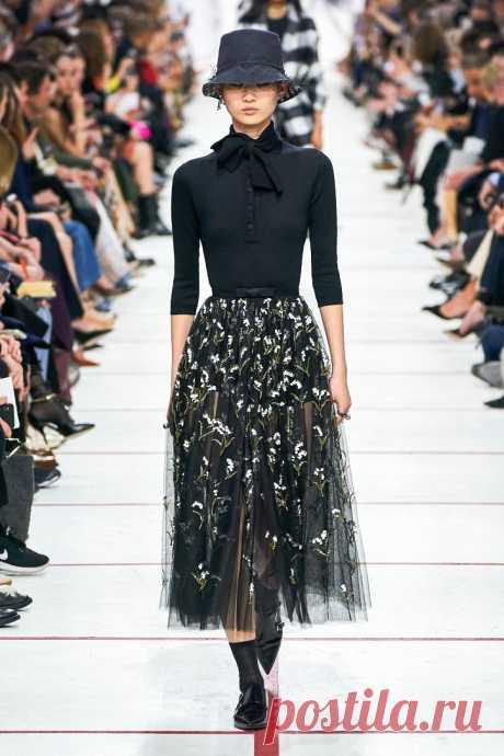 Коллекция Christian Dior осень-зима 2019-2020