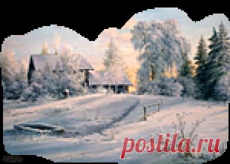 Зимние этюды png