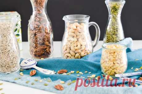 Вот почему нужно замачивать орехи, бобовые и семечки перед употреблением