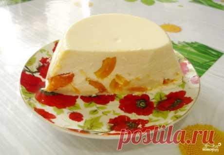 Бланманже с творогом - пошаговый рецепт с фото на Повар.ру