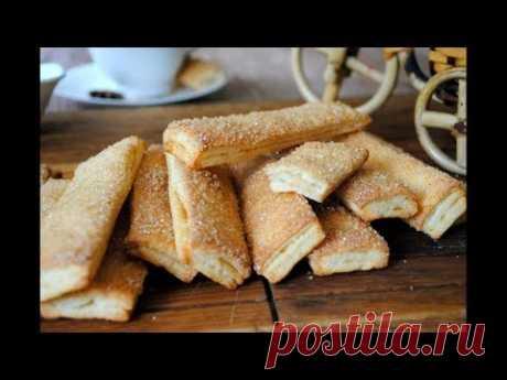 ВКУСНОЕ и простое ТВОРОЖНОЕ печенье 🍪 к чаю. Простой и Вкусный Домашний рецепт . - YouTube