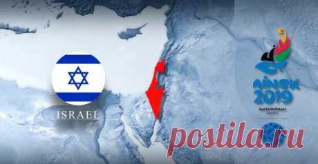 На карте II Европейских игр неправильно изобразили Израиль. Министр спорта обратится к Лукашенко