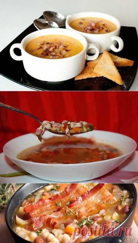 Вкусные супы с беконом: 5 рецептов / Простые рецепты