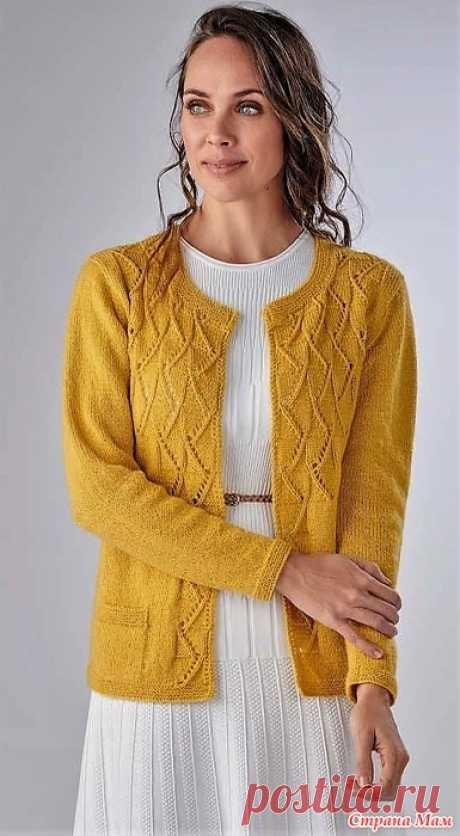 Кардиган Wistman`s Wood. Спицы. The Knitter Вязание. Мое любимое хобби - №4 2021