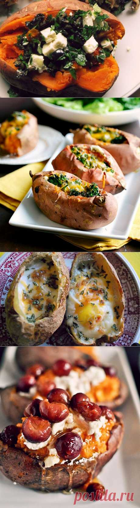 12 recipes of the baked potatoes