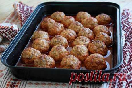Тефтели с гречкой - рецепт с пошаговыми фото | Меню недели