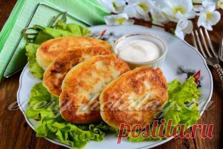 Картофельные зразы с яйцом и луком, рецепт с фото