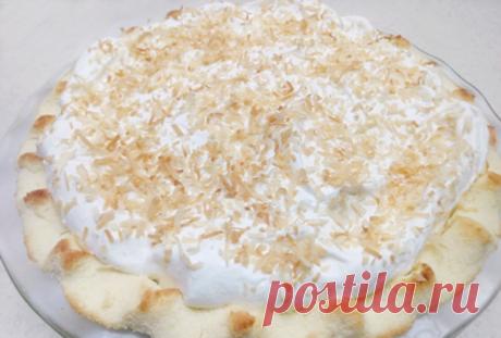 Рецепт кокосового кето пирога (БЖУ подсчитаны)