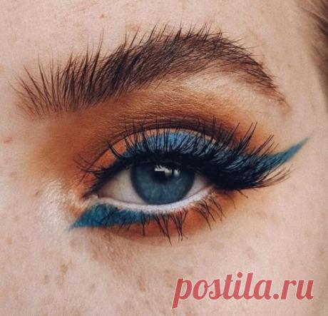 Всё о новых тенденциях макияжа глаз: модные стрелки 2019-20 года | OK BEAUTY | Яндекс Дзен