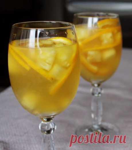 Рецепт фруктового пунша 🔥 на Вкусном Блоге