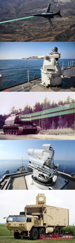 Будущее уже здесь: реальное лазерное оружие США и России