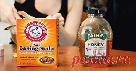 Пищевая сода и мед: средство, которое уничтожает даже самую тяжелую болезнь!