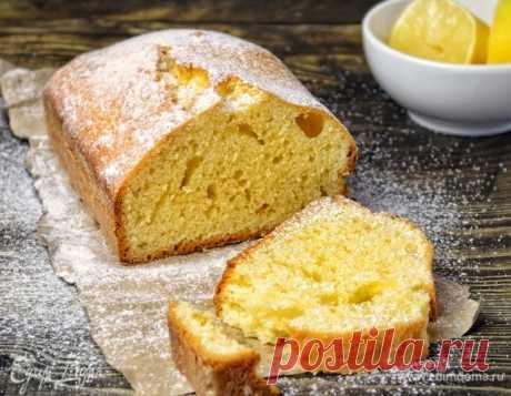 Лимонный кекс. Ингредиенты: яйца куриные, сахар, пшеничная мука