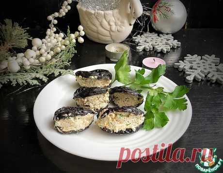Закуска с черносливом «Мидии» – кулинарный рецепт
