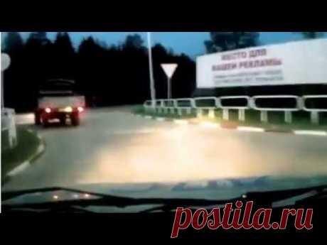 Полицейские не смогли догнать старый УАЗик