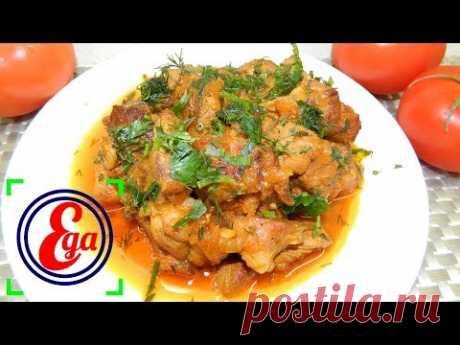 Сытное и вкусное, легкое в приготовлении филе бедра индейки в томатном соусе