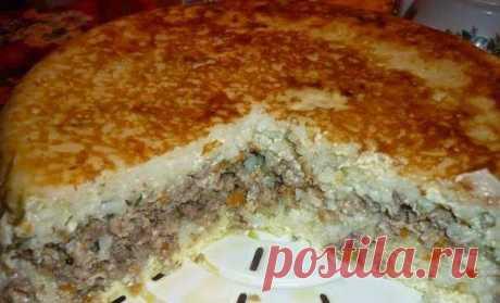 Шустрый повар.: Рисовая запеканка с мясом