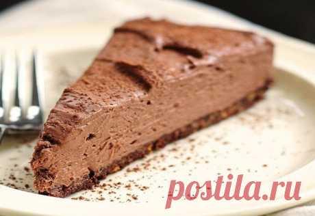 Обалденный торт «Шоколадная нежность» всего за 20 минут: просто и без выпечки | Кулинарушка - Вкусные Рецепты