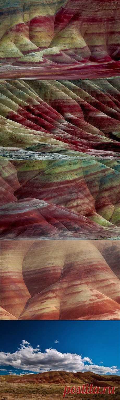 Раскрашенные холмы в штате Орегон (17 фото)