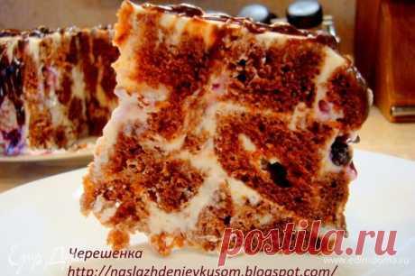 Шоколадный торт с творожно-йогуртовым кремом рецепт 👌 с фото пошаговый | Едим Дома кулинарные рецепты от Юлии Высоцкой
