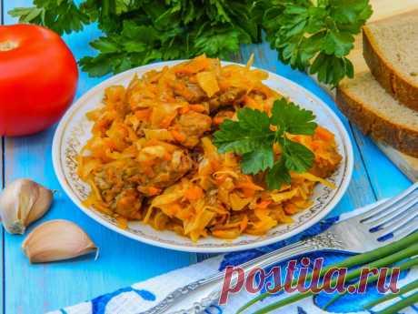 Вкусная солянка из свежей капусты на сковороде рецепт с фото пошагово - 1000.menu