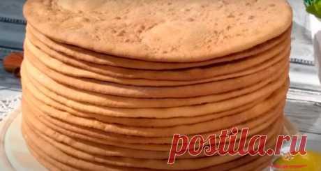 Простые коржи для медовика - Лучший сайт кулинарии