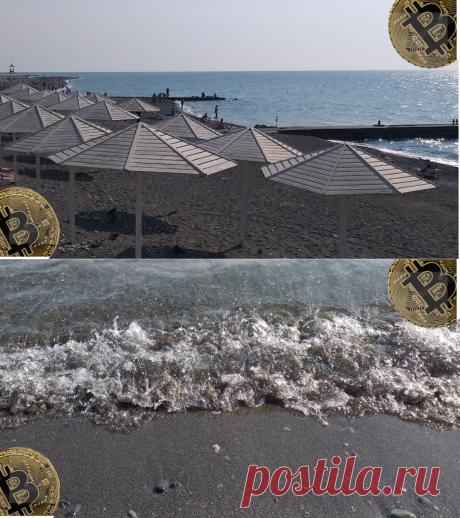 Пляж Чайка в Адлере, разрешили гулять, загорать и даже купаться | БогатаяЯ | Яндекс Дзен