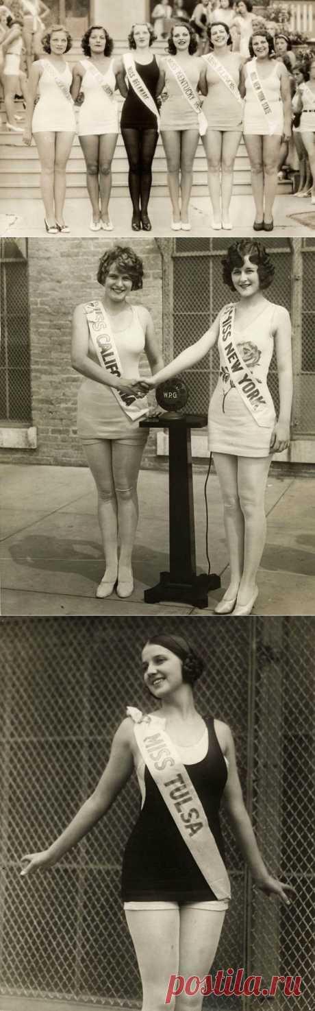 Конкурсы красоты в Америке между двумя войнами – 1924-1939 годы : НОВОСТИ В ФОТОГРАФИЯХ