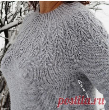 Hoarfrost Sweater by Alena Malevitch.