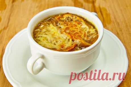 Луковый суп: классический рецепт