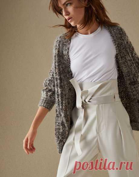 Вязаные кофты 2021: модные женские модели, фото, тенденции