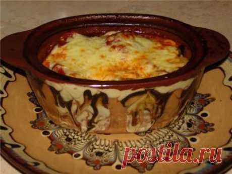 Шкембе/рубец/ в гювече - болгарская кухня
