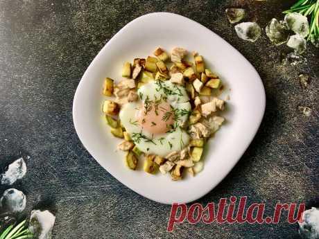 Мой белковый обед-перекус за 5-7 минут | ХУДЕЕМ ВКУСНО! | Яндекс Дзен