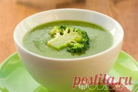 Суп-пюре из брокколи со сливками: рецепт с фото - рецепт приготовления с фото