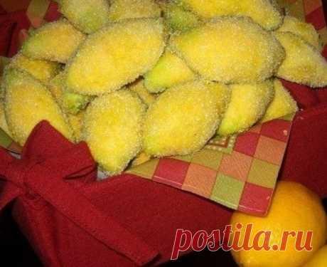 Кулинария>Печенье «Лимончики»