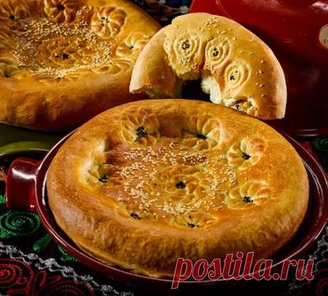 Узбекская лепешка в духовке от Сталика Ханкишиева