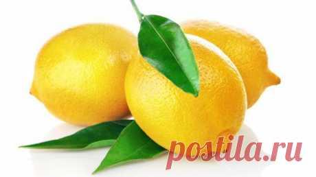 Как использовать лимон в быту / Все для женщины