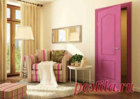 Как подобрать цвет дверей и пола.