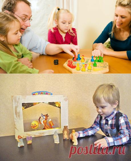 5 игр дома, которые могут понравяться не только детям, но и родителям | Счастливое детство | Яндекс Дзен