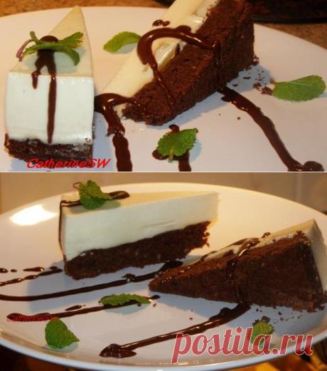 SW: Шоколадный торт с панна коттой