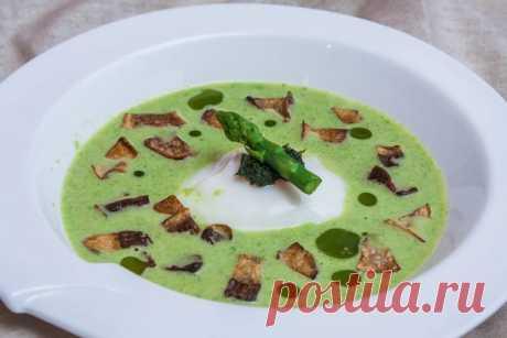 Суп из спаржи с белыми грибами - пошаговый рецепт с фото - Готовим счастье на Леди Mail.Ru - Philips