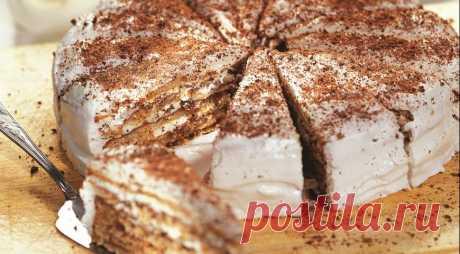 The Italian nut cake on Gastronom.ru
